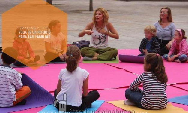Proyecto pionero de Integración para Familias Refugiadas a través del Yoga