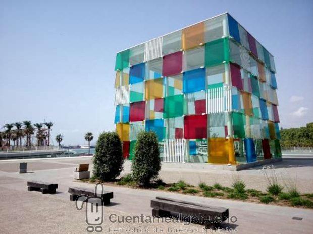 Centre Pompidou Málaga. Foto de Karen Bryan.