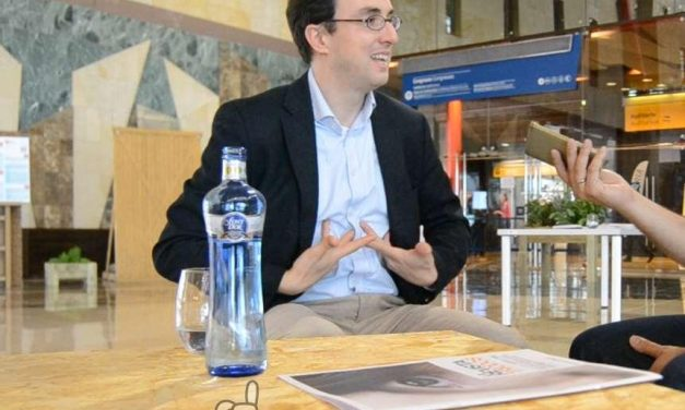 James Vaccaro nos cuenta algo bueno durante el NESI Forum