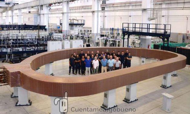 Completan la primera bobina del experimento europeo de energía de fusión nuclear