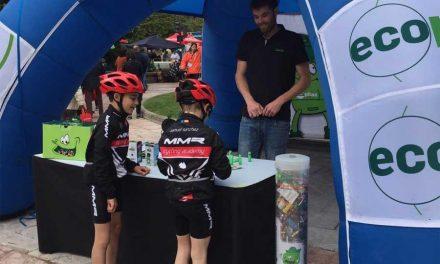 Los seguidores de la Vuelta a Asturias reciclan 100 kilos de pilas