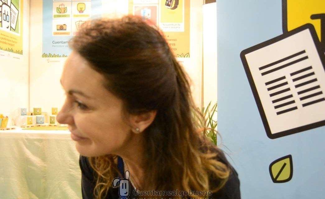 Olga Martín nos cuenta algo bueno