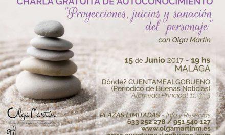 Charla Gratuita de Olga Martín sobre Autoconocimento en la sede de Cuentamealgobueno
