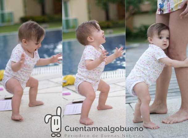 El niño comenzará a andar entre los 9 y 12 meses... a su tiempo. Foto: Gustavo Devito.