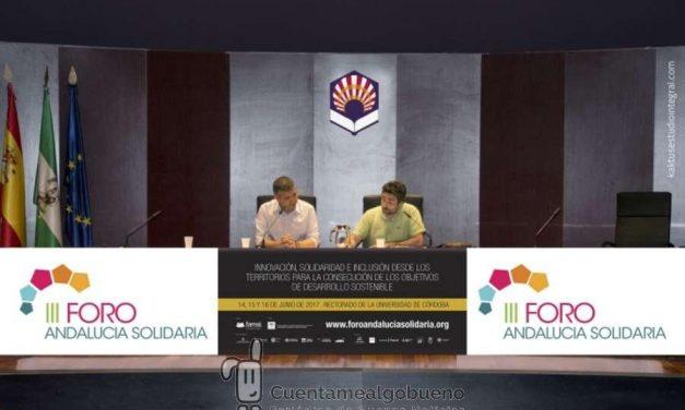 La Declaración de Córdoba pone fin al III Foro Andalucía Solidaria