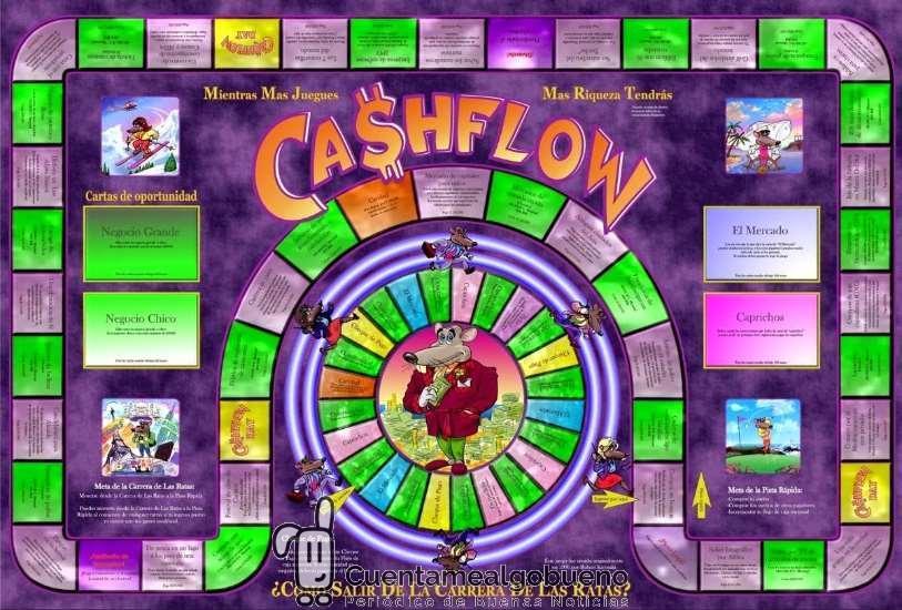 1ª Partida de Cash Flow en la sede de Cuentamealgobueno