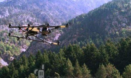 Utilizan un dron para contar las poblaciones de cabras montesas de los Pirineos