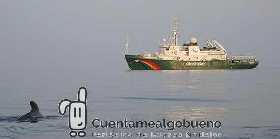 """El barco de Greenpeace recorrerá el Cantábrico en una campaña para """"salvar el clima"""""""