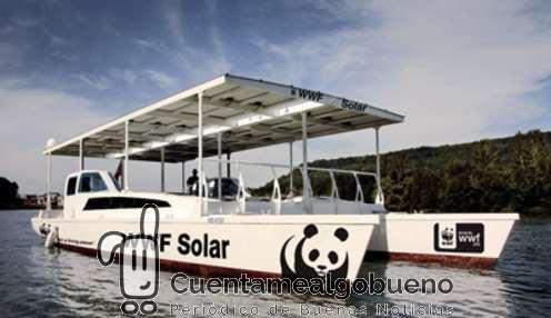 El barco solar de WWF atraca en Ibiza con el objetivo de promover el consumo responsable de pescado