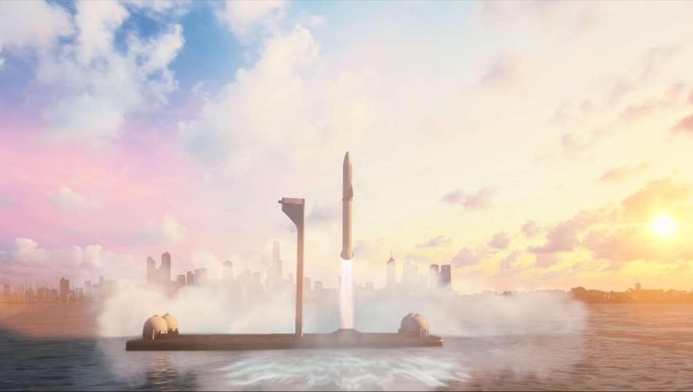 Nueva y revolucionaria propuesta de Elon Musk: vuelos terrestres con cohetes de Space X