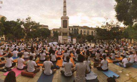La Plaza de la Merced de Málaga se llenará de personas practicando Yoga