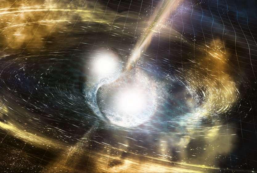 El papel de los científicos españoles en el gran descubrimiento del choque de estrellas