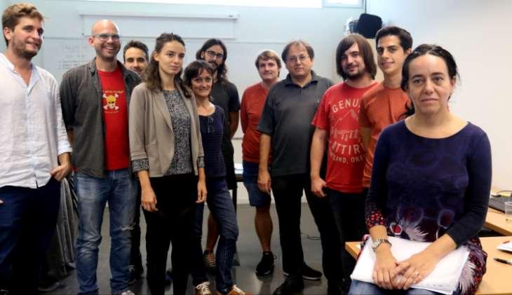 Grupo de Relatividad y Gravitación de la Universidad de las Islas Baleares (UIB) que forma parte de LIGO. Foto: UIB.
