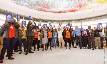 Avance mundial en materia de derechos humanos