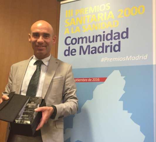 Entrega Premio Sanitaria de la Comunidad de Madrid