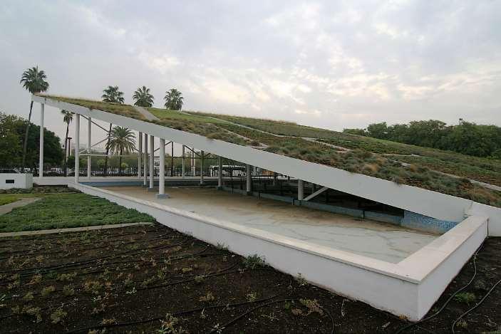 Techos verdes para paliar los efectos del cambio climático