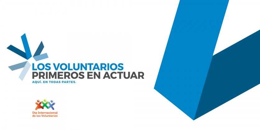 Logotipo del Día Internacional de los Voluntarios