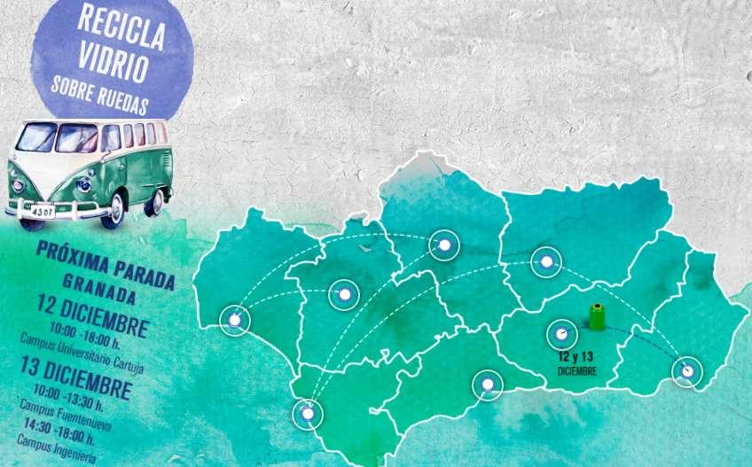 Recorrido de la Vidrioneta por las capitales andaluzas