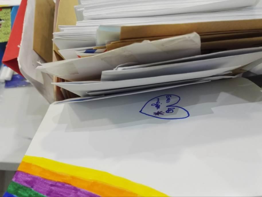 Han recibido más de 2.000 cartas en Málaga
