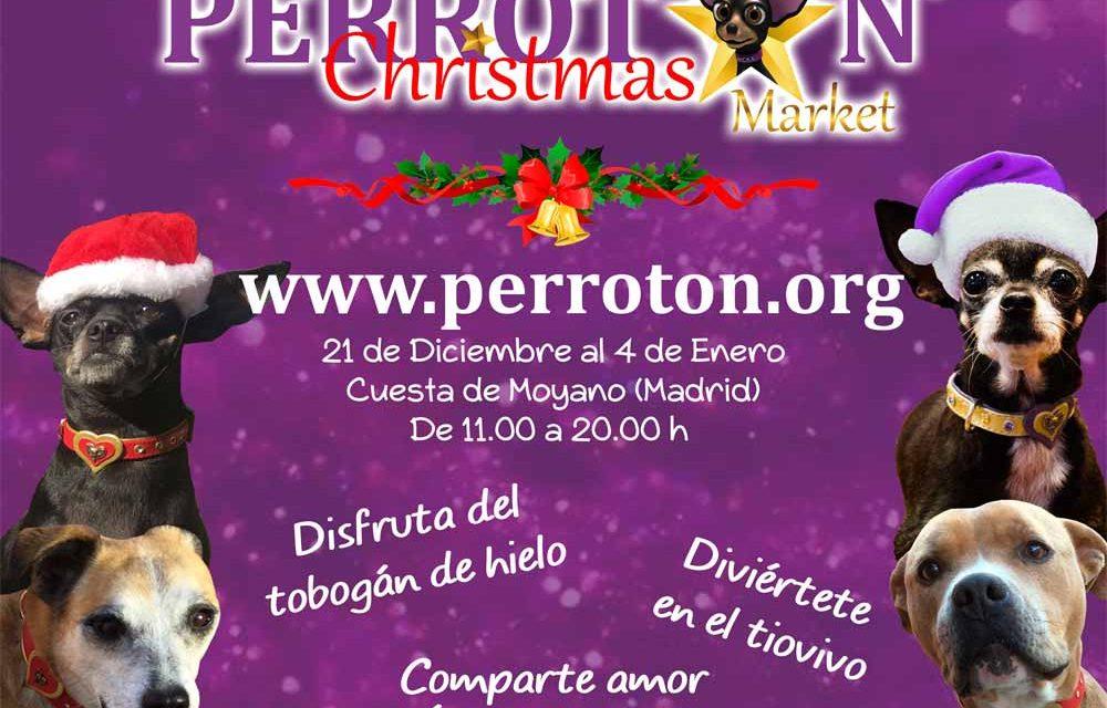 1ª Edición de Perrotón Christmas Market en Madrid