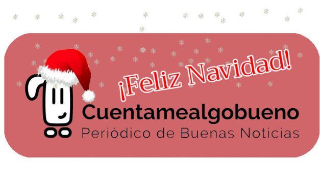 Cuentamealgobueno te desea ¡Feliz Navidad!