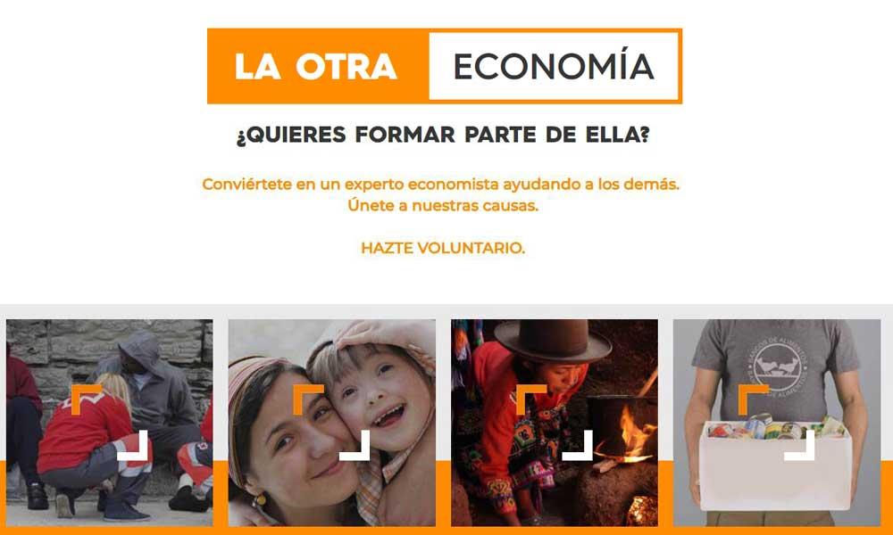 Campaña de promoción del voluntariado «La Otra Economía»