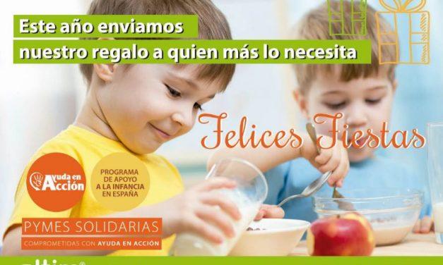 Empleados de una consultora donan 7 becas para comedores sociales infantiles de Madrid