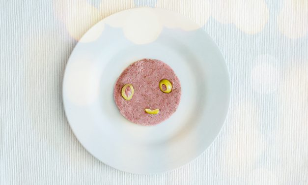 Mortadela vegana