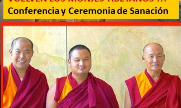 Evento con los monjes Tibetanos en Águilas (Murcia)