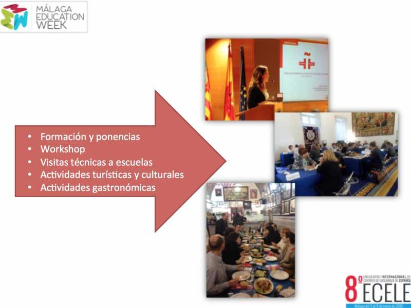 8º Encuentro Internacional de Centros de Enseñanza de Español, organizado por FEDELE (Federación Española de Escuelas de Español)