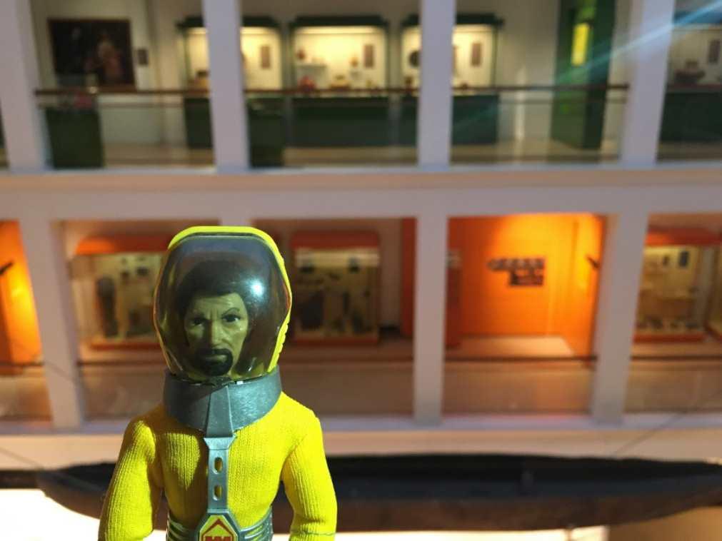 Un Madelman astronauta en el MNA