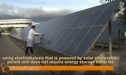 Investigadores de la UA crean un sistema autónomo de desalación y potabilización de agua con energía solar