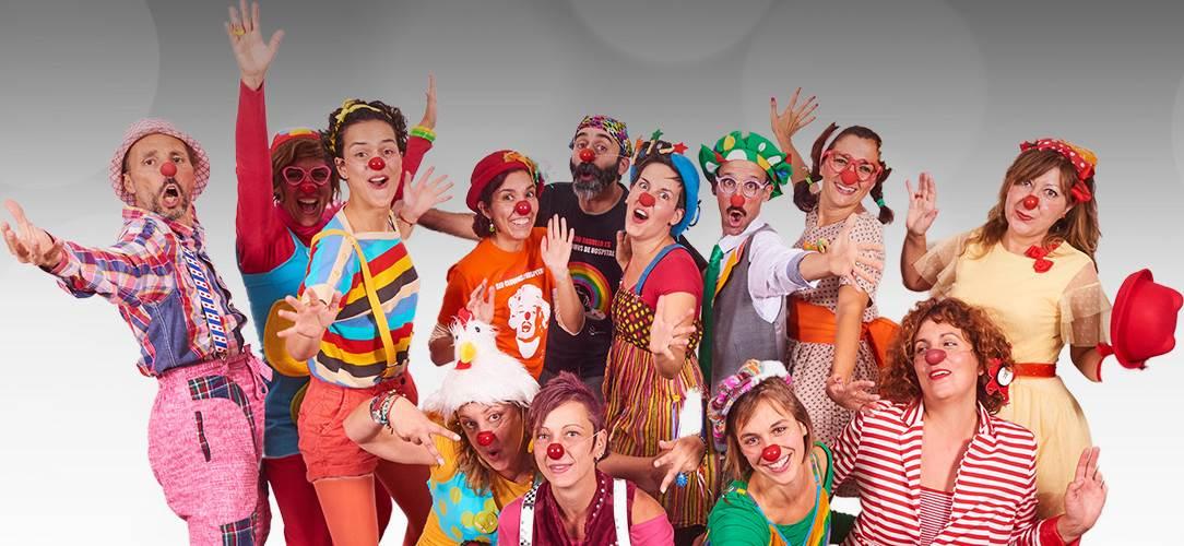 Los payasos ejercen una gran labor animando a niños y niñas en hospitales de toda España. Foto: Saniclown