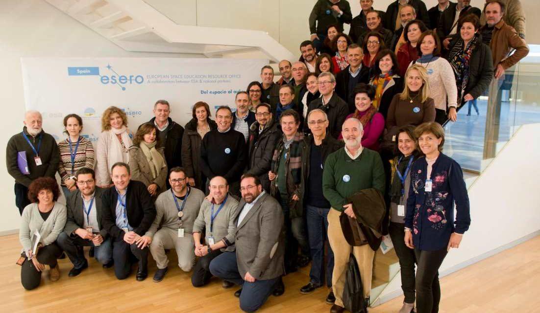 La Oficina ESERO promueve la formación del profesorado andaluz en materia del espacio