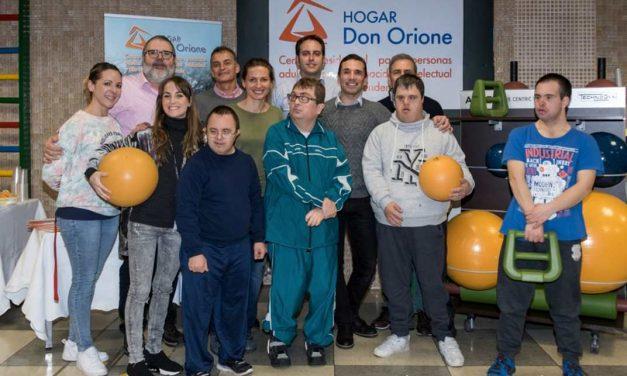 Empresa de fitness dona 10.000€ en material para entrenamiento funcional al Hogar Don Orione