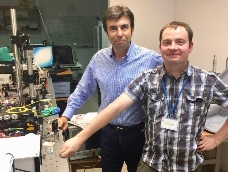Pablo Artal e Ireneusz Grulkowski investigadores autores del nuevo avance óptico