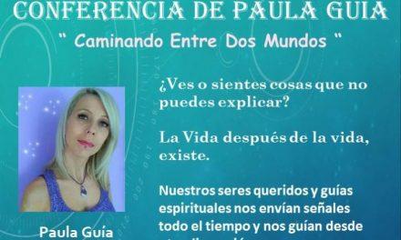 Conferencia de Paula Guía en Águilas (Murcia)