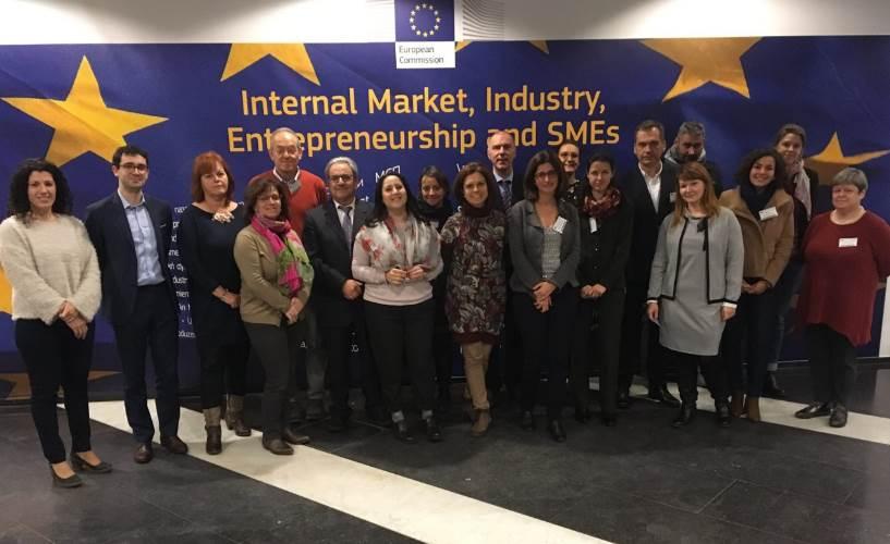 La Oficina del Gobierno de Canarias en Bruselas acogió la reunión de lanzamiento del proyecto Shar-EEN