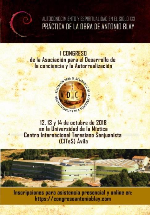 Congreso Antonio Blay: portada del programa