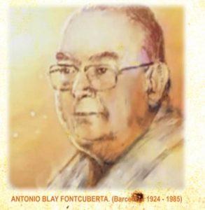 Antonio Blay nació en Barcelona en 1924 y murió en la misma ciudad en 1985. Se interesó desde muy joven por la perspectiva oriental de la realidad y se preocupó por darle una forma que fuera útil y eficaz para nuestra mentalidad occidental