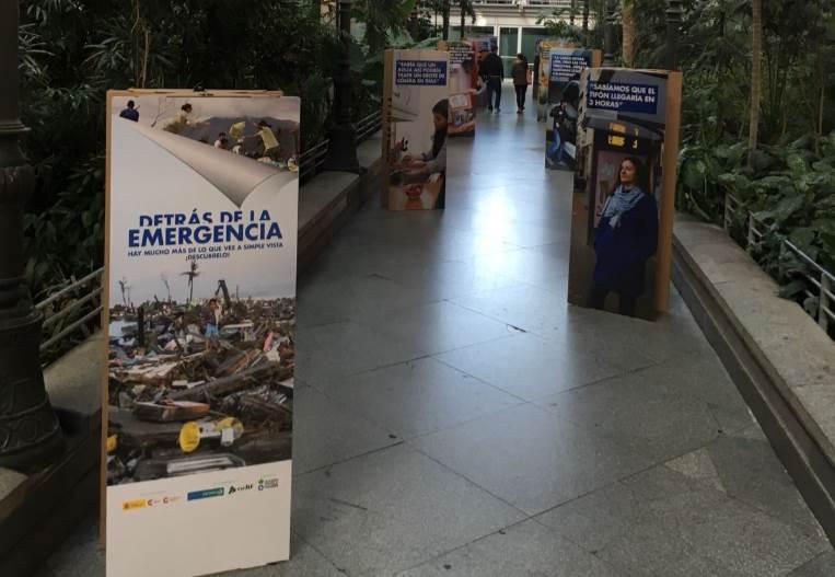 """La campaña Campaña """"Detrás de la Emergencia"""" mostrará una exposición itinerante en varias estaciones de tren españolas"""