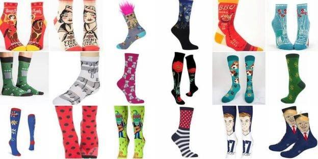 John Cornin ha vendido más de 30.000 pares de calcetines locos en un año