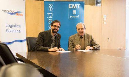 La EMT de Madrid ha reciclado 4,3 millones de tapones de plástico desde 2015