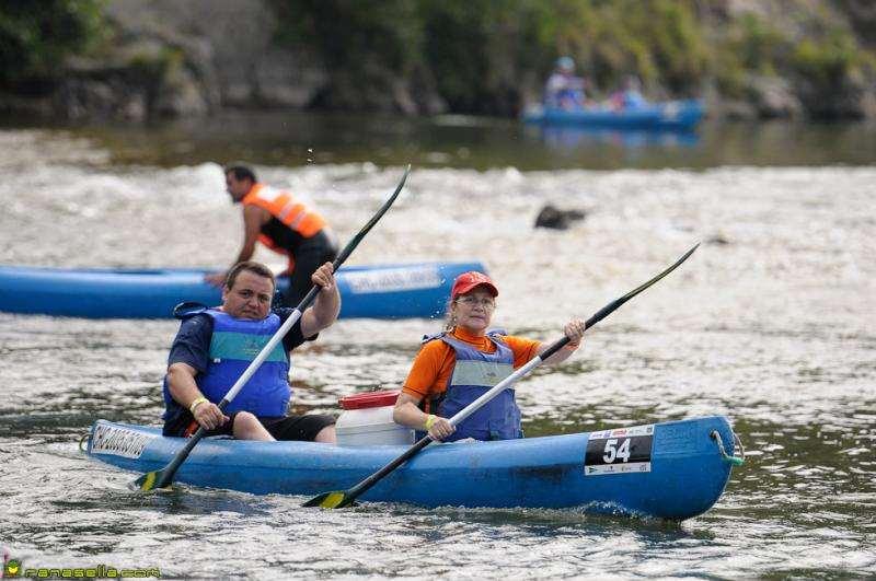 En eventos deportivos como el Descenso del Sella y el Descenso del Sella Adaptado han contribuido a recoger más de 500 kilos de pilas usadas
