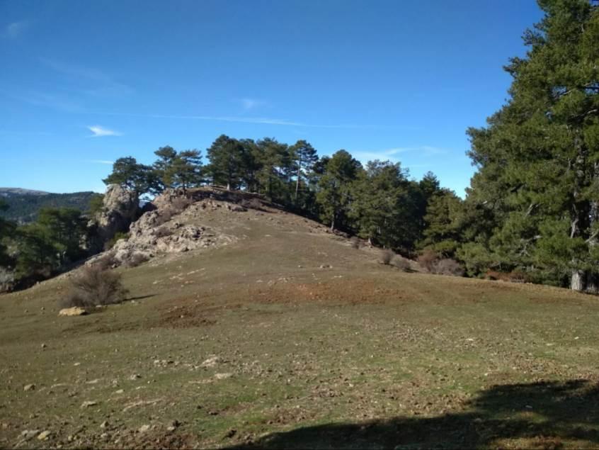 Uno de los paisajes que recorre Javier cuando visita el Parque Natural de Cazorla, Segura y las Villas