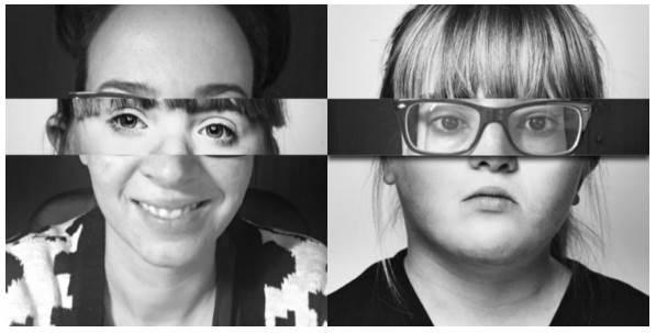 La exposición XTUMIRADA y la campaña busca despertar la empatía en los ciudadanos hacia las personas con síndrome de Down