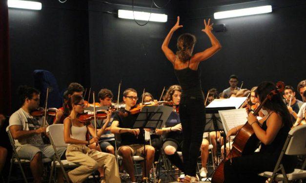 Taller musical y conciertos de la Academia Orquestal de Málaga para la semana blanca