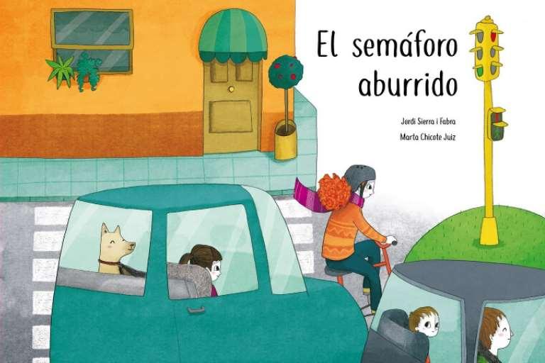 """Las ventas del cuento solidario """"El semáforo aburrido"""" de Jordi Sierra i Fabra irán destinadas a comprar sillitas para familias con necesidades"""