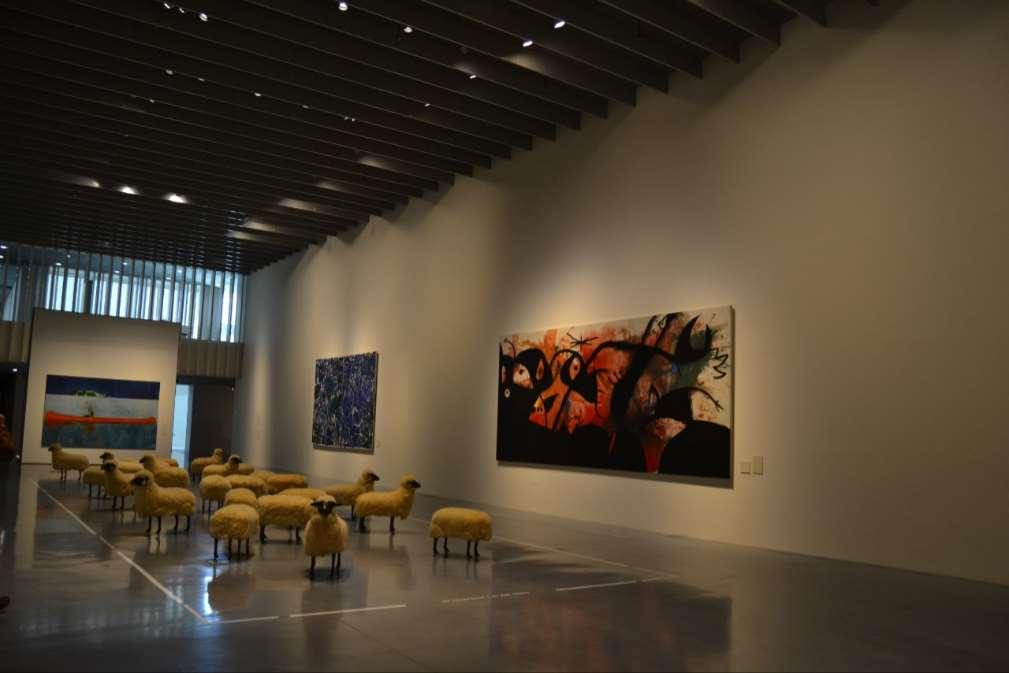 Exposición en el museo Pompidou, donde se celebró el encuentro sobre reputación