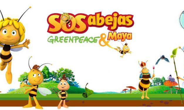 Arranca la campaña SOS abejas Greenpeace & Maya 🐝🌺🌍